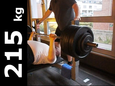 raw benchpress 215 kg 473 lbs masters over 62 walter kurda 2016 youtube. Black Bedroom Furniture Sets. Home Design Ideas