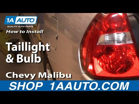 How to Install Replace Taillight and Bulb Chevy Malibu 04-08 1AAuto.com