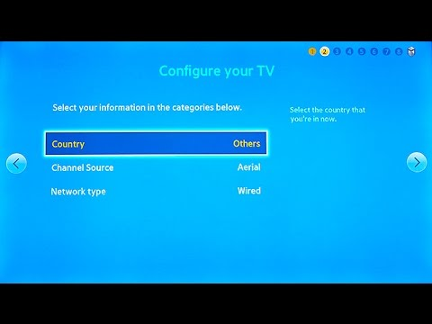 How to Change Region on Samsung Smart TV for F and J Series