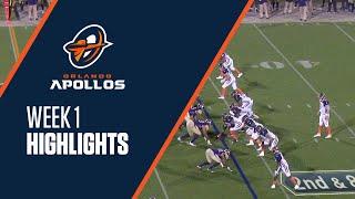 Orlando Apollos Gilbert With 33 Yard Touchdown to Johnson to take 31-6 lead.