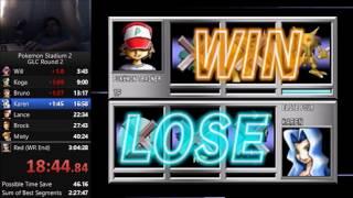Pokemon Stadium 2 - Gym Leader Castle Round 2 Speedrun in 2:54:48 [Current World Record]