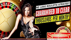 ROULETTE - ROULETTE SYSTEM- ROULETTE SOFTWARE - ROULETTE WINNING STRATEGY- $5 and $1 PROGRESSION
