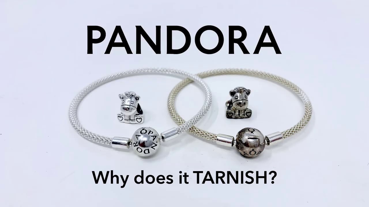 Why does PANDORA silver jewelry turn black (tarnish)?