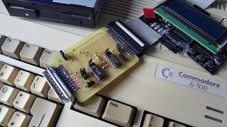 Amiga 500 homemade External Floppy Disk Drive Interface
