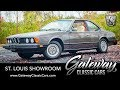 1979 BMW E24 633CSi For Sale Gateway Classic Cars St. Louis  #8263