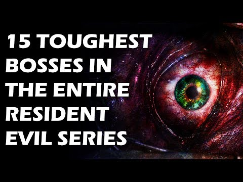 15 Toughest Bosses In The Entire Resident Evil Series