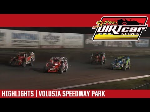 Super DIRTcar Series Big Block Modifieds Volusia Speedway Park February 15, 2019 | HIGHLIGHTS
