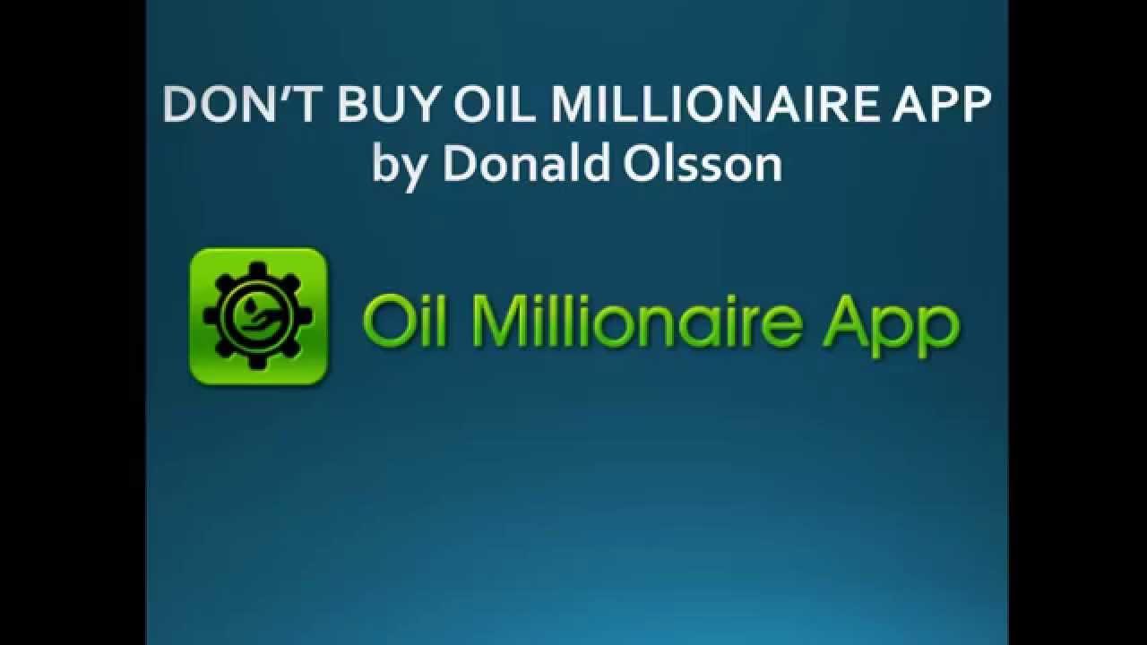 Binary options millionaire app