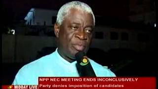 Midday Live - NPP denies Imposition of Candidates - 04/10/2013