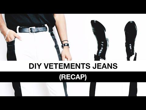 DIY Vetements Jeans
