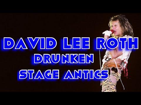 David Lee Roth (Van Halen) drunken antics @ the 1983 US Festival