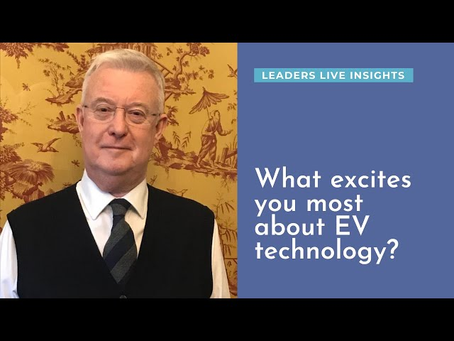 What excites you most about EV technology? Peter Wooding, automotiveEV | Leaders LIVE Insights