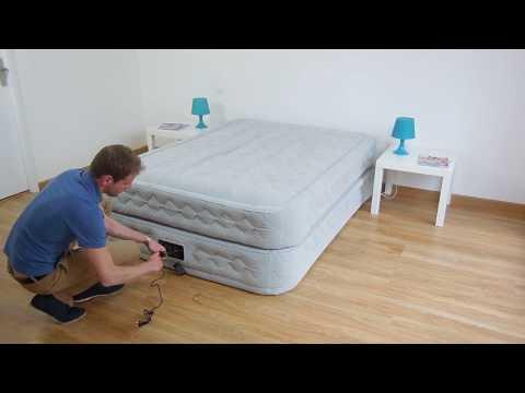 Materasso Intex Autogonfiante.Materasso Gonfiabile Elettrico 2 Piazze Intex Supreme Bed