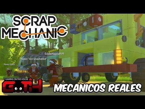 MECANICOS TITULADOS 100% real no fake! Scrap Mechanic RANCIO GAMING en Español - GOTH