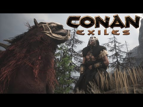 Conan Exiles - Savage Frontier Wolf, Greater Pets and Pictish Warchief Armor - The Purge #29