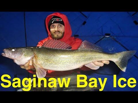 Saginaw Bay Ice Fishing