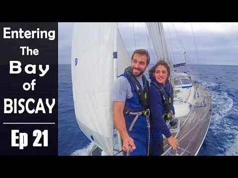 Sailing the BAY of BISCAY out of Season - Sailing Kauana Ep21