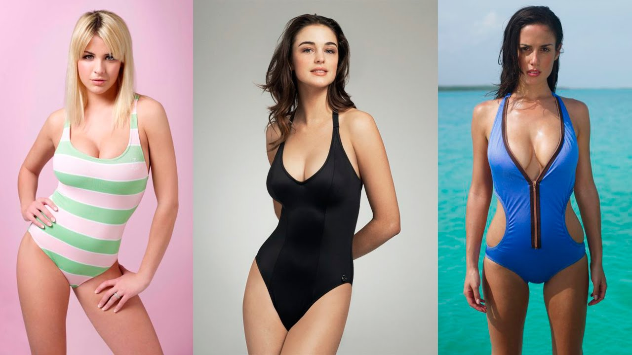 One Piece Bathing Suits Are Coming Back In A Big Way