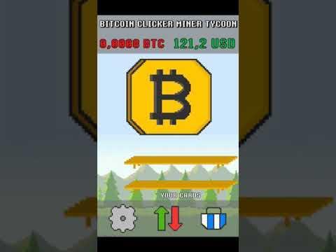 Bitcoin Clicker: Játsszon az Bitcoin Clicker játékkal