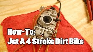 How-To: Jet a 4 Stroke MX Dirt Bike (Sample)