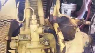 Petter PH1 Diesel engine.