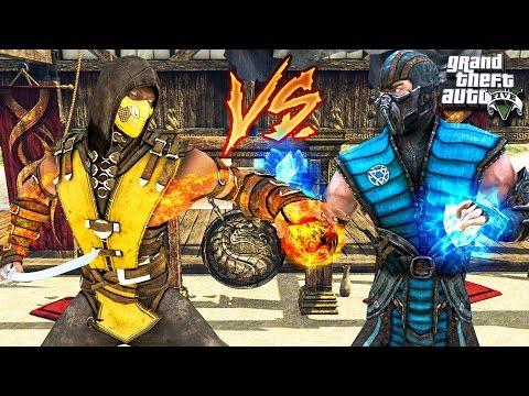 Mortal Kombat II Прохождение за Scorpiona (Sega Rus)