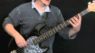 How To Play Bass To Gimme Three Steps Lynyrd Skynyrd Part 1