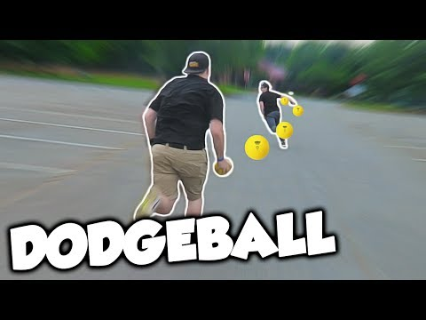 DODGEBALL IN THE PARK!!