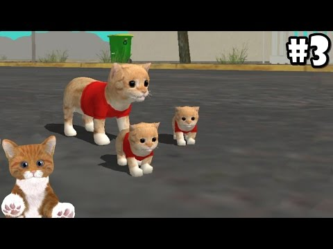 Cat Sim Online: Play with Cats - Cute Baby Kitten - Android / iOS - Gameplay Episode 3