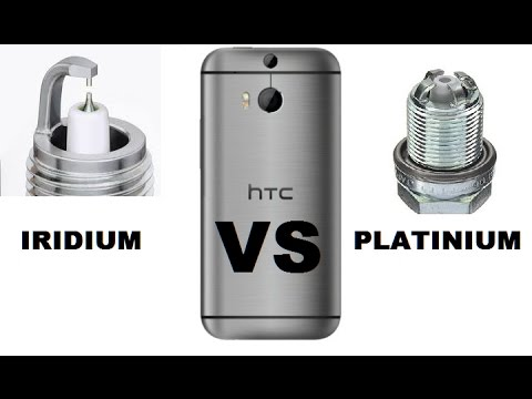 IRIDIUM vs PLATINUM spark plugs SMARTPHONE TEST BMW e46