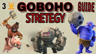 CLASH OF CLANS : GOBOHO SUPER STRONG ATTACK STRATEGY IN TOWN HALL 9| 3 STAR ATTACK STRATEGY FOR TH 9