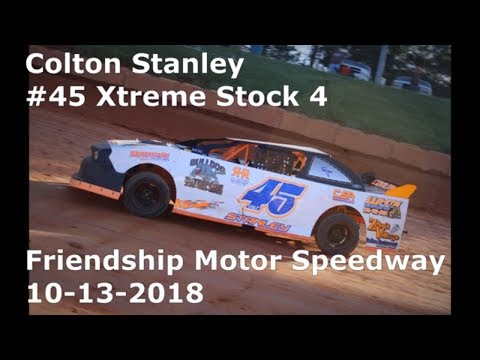 Colton Stanley #45 Xtreme stock 4 Friendship Motor Speedway 10-13-2018