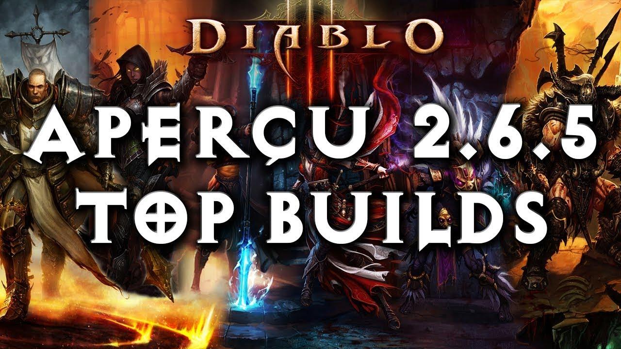 Aperçu Top Builds 2 6 5 ~ Diablo 3 [PTR] - Thủ thuật máy