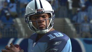 Vince Young Through The Years - NCAA Football 04 - Madden 25