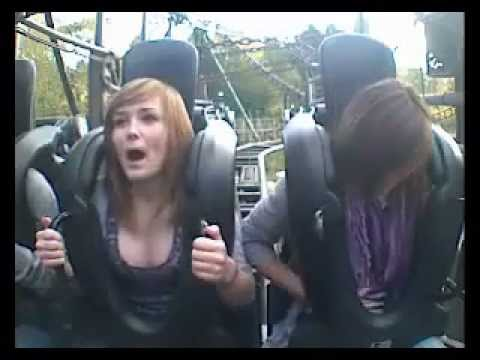 Roller coaster boobs uncensored