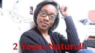 Natural Hair| 2 years post Big Chop (4c Hair)