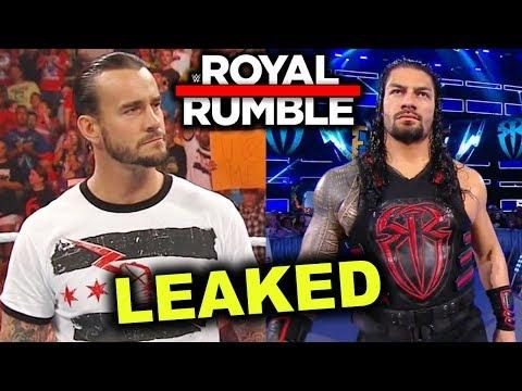 10 WWE Royal Rumble 2019 Leaked Surprise Entrants - CM Punk & Roman Reigns Returning