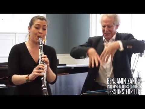 Interpretation Class: Mozart - Clarinet Concerto in A Major Mvt. II