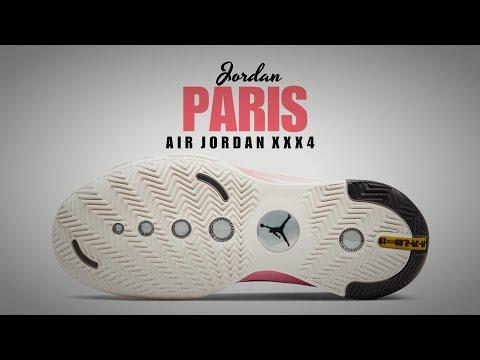 Air Jordan 34 ' Paris ' FIRST LOOK + RELEASE DATE #paris #airjordan #jordan34 #goat #basketball