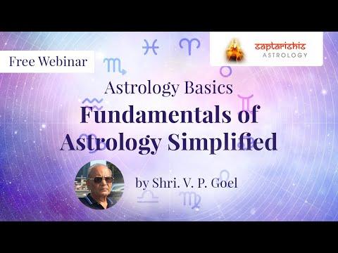 Fundamentals Of Jyotish - Saral(Simplified) By Shri.V.P.Goel