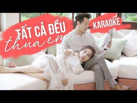 Tất Cả Đều Thua Em - Hằng BingBoong   Karaoke Version 2018 ( Tông Nữ)