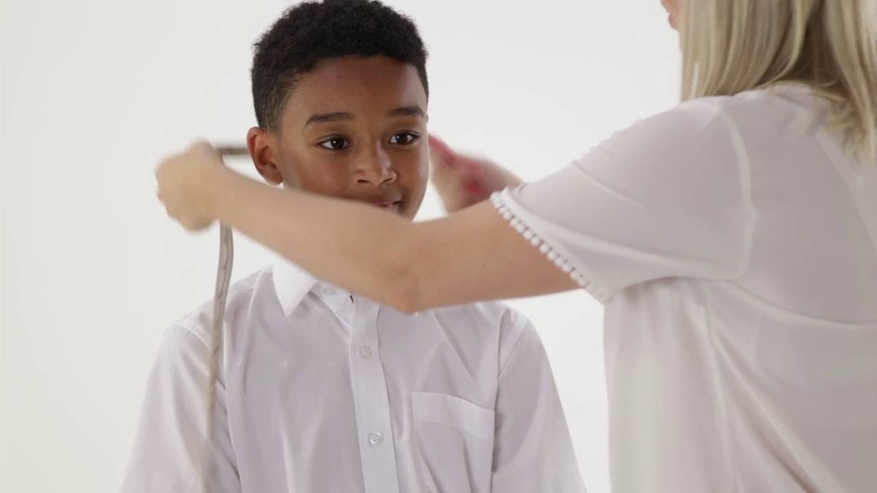 How to measure your child for a Boys School Shirt