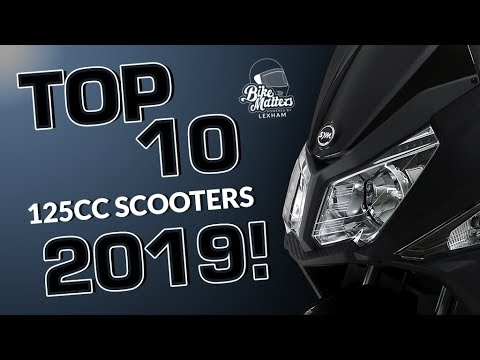 Top 10 125cc Scooters 2019 - Perfect For Beginners!