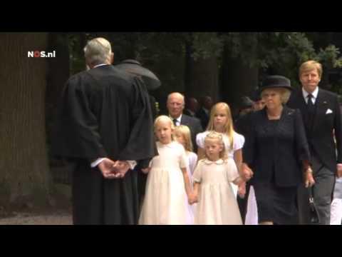 Uitvaart prins Friso: aankomst bij de Stulpkerk