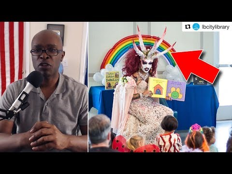 ANOTHER Drag Queen Entertains Small Children, This Time at Michelle Obama Library (REACTION)