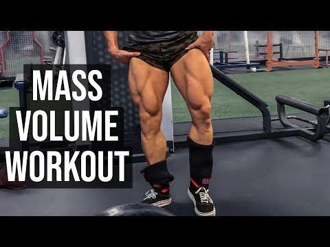 Dan Rockwell MASS Builder Leg Workout