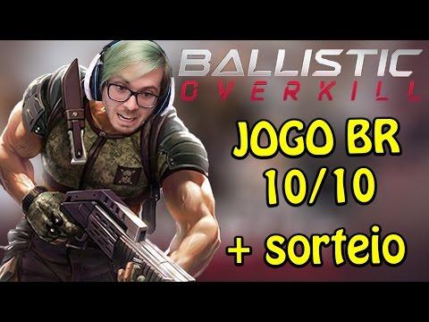 BALLISTIC OVERKILL - FPS BRASILEIRO BEM DIVERTIDO E SORTEIO