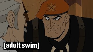 Dean Venture's new Pop-Pop | The Venture Bros | Series 5 | Adult Swim