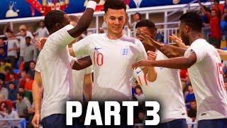 FIFA 18 World Cup Gameplay Walkthrough Part 3 - QUARTER FINAL AGAINST BRAZIL (ENGLAND)