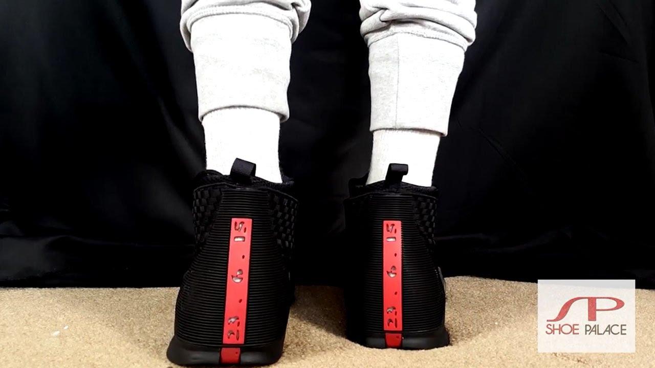 best service d0ddb 53b3b ... Air Jordan 15 Stealth On Foot - YouTube ...